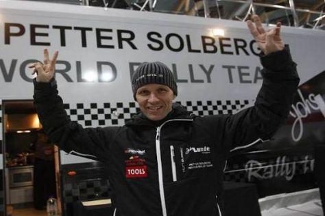 Petter Solberg trat in Norwegen erstmals mit seinem eigenen Team an