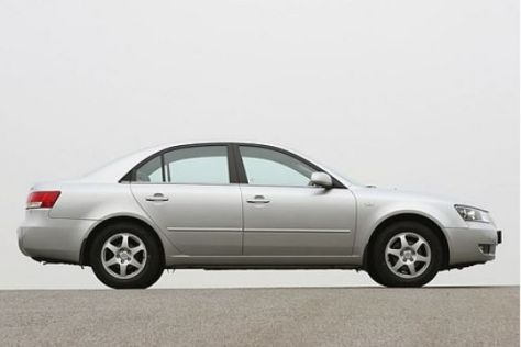Test Hyundai Sonata 2.4 GLS