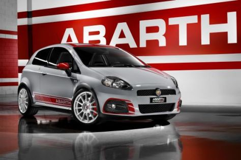 Abarth Grande Punto SuperSport Genf 2009