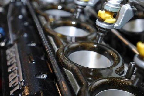 Jedem Fahrer stehen in der Formel-1-Saison acht Motoren zur Verfügung