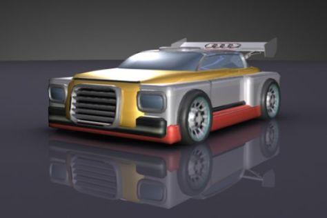 Audi sucht Ideen für das Autodesign im Jahr 2025.