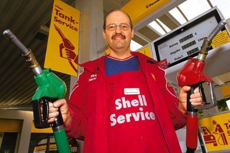 Shell gräbt den Tankwart wieder aus