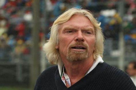 Multimilliardär Richard Branson ist für alles zu haben, was ihm Spaß macht