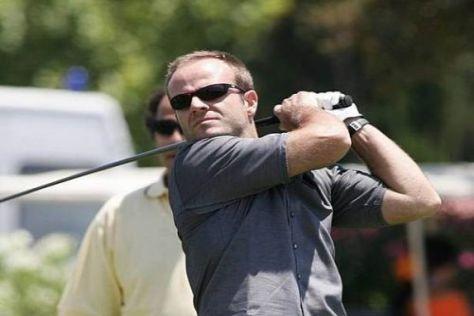 Derzeit weniger auf der Rennstrecke als auf dem Golfplatz: Rubens Barrichello