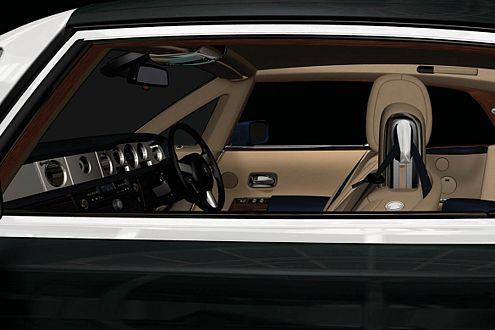 Purer Luxus im Innenraum, so gehört es sich für Messe-Cars und RR.