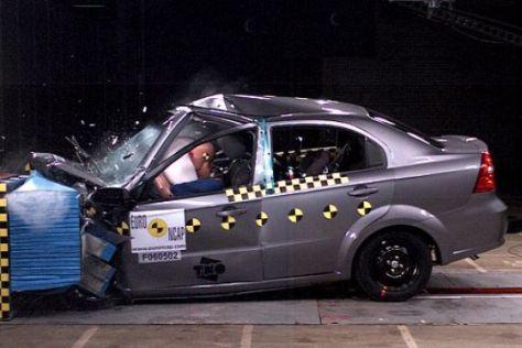 Crashtest Chevrolet Aveo