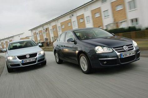 VW Passat gegen Jetta
