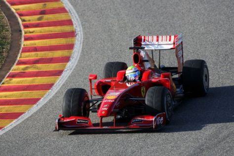 Formel-1-Saison 2009, Ferrari F60 Rollout