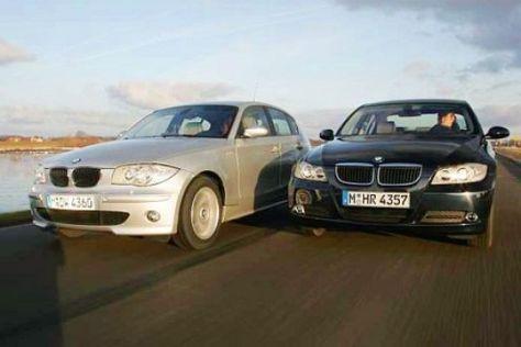 Vergleich BMW 1er gegen 3er
