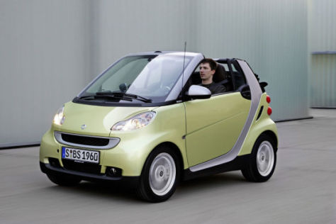 Smart fortwo 'Edition Limited three'