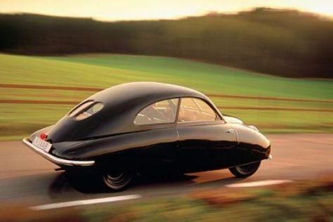 Ur-Väterchen aller Saab: Der Prototyp 92 von 1947.