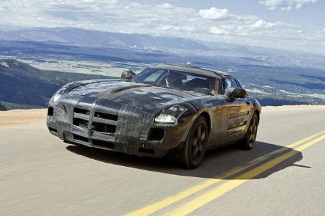 Erlkönig Mercedes SLS AMG