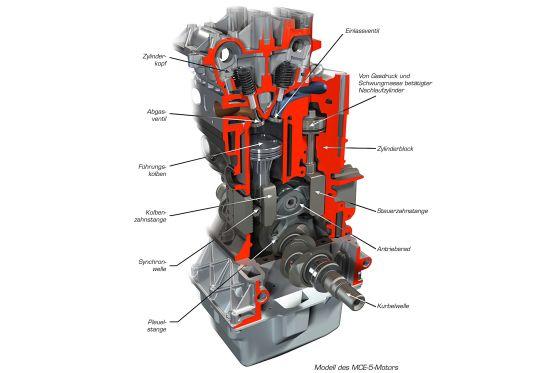 Der Sparmotor MCE-5 VCRi 1.5L ist ein Vierzylinder.