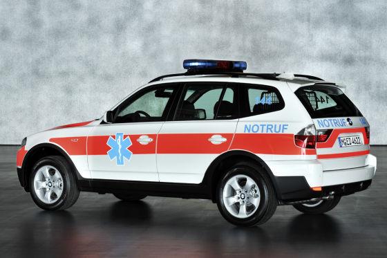 BMW X3 Rettungsfahrzeug