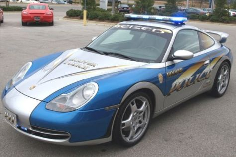Polizei-Porsche in Hoover