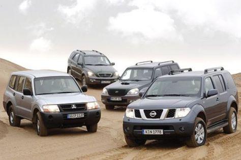 Vier robuste SUV im Vergleich