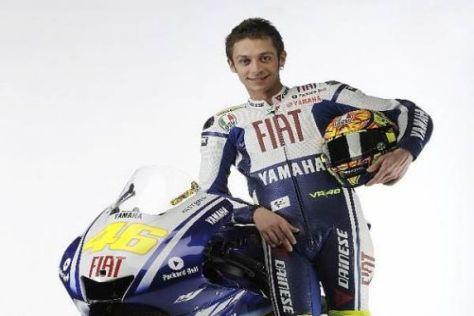 Ihn gilt es zu jagen: Valentino Rossi