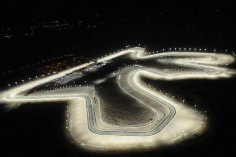 Wenn es Nacht wird in Katar...