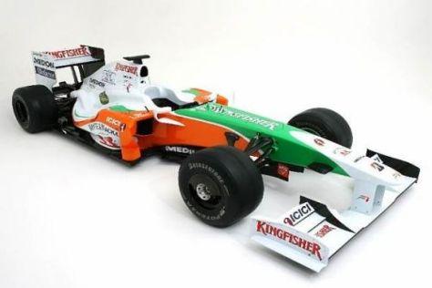 Mit dem VJM02 will Force India ins Mittelfeld vorstoßen