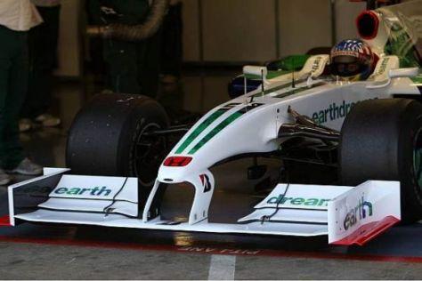 Alex Wurz hatte bei Honda die Gelegenheit, die Flügel für 2009 ausgiebig zu testen