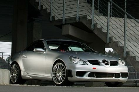 Mercedes SLK 55 Tracksport