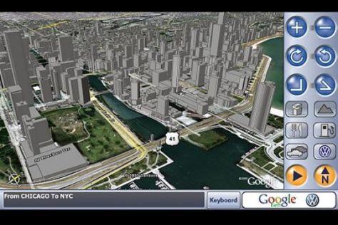 Navigation mit VW und Google