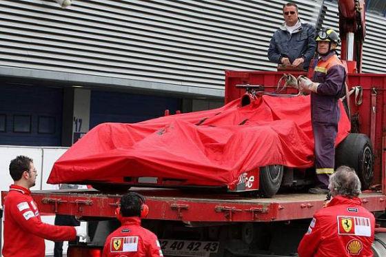 Formel-1-Testfahrten 2009, Jerez, Ferrari F60