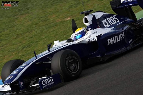 Formel-1-Testfahrten 2009, Jerez, Nico Rosberg, Williams