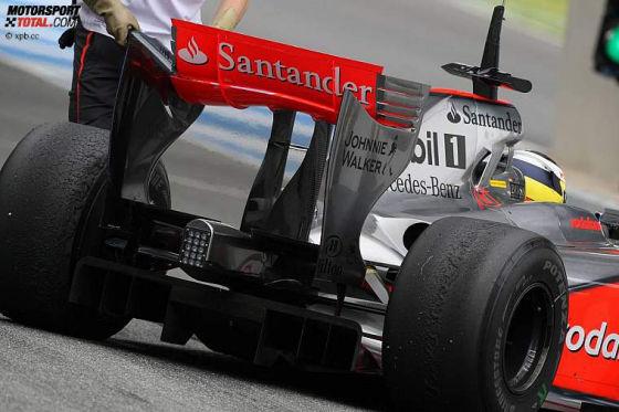 Formel-1-Testfahrten 2009, Jerez, Pedro de la Rosa, McLaren Mercedes