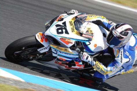 Superbike 2009, Phillip Island, Max Neukorchner Alstare Suzuki