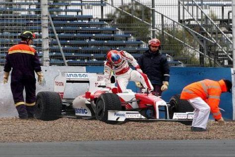 Formel 1 Tests 2009, Jerez de la Frontera, Timo Glock im Toyota TF109