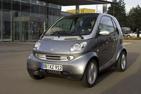 Smart fortwo CNG