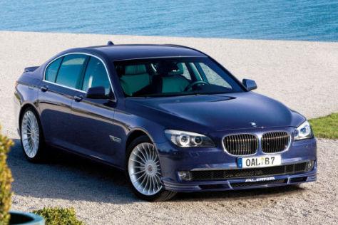 Alpina hat den BMW 7er aufgeblasen: 507 PS leistet er mit Biturbo.