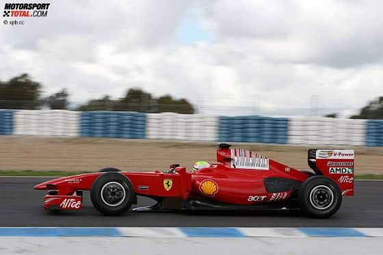 Formel-1-Testfahrten 2009, Jerez, Felipe Massa Ferrari