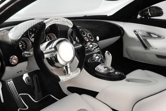 Cockpit Bugatti Veyron 16.4 Linea Vincerò