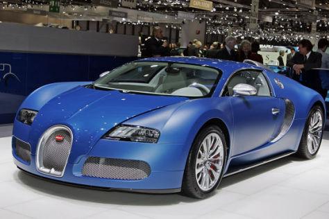 Bugatti Veyron Centennial Bleu