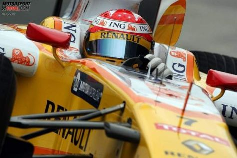 Formel-1-Test Jerez 2009, Fernando Alonso Renault R29