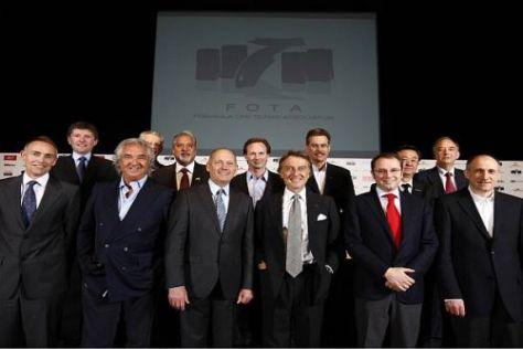 Die FOTA stellte die neuen Pläne für die Formel 1 in Genf vor