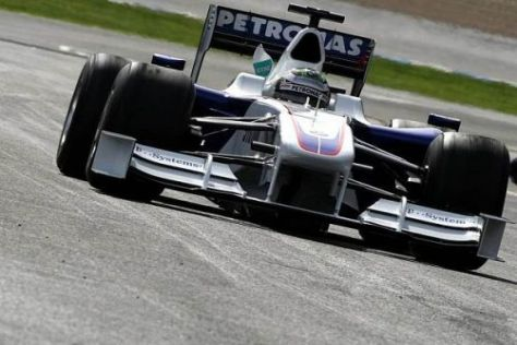 Lebenszeichen von Nick Heidfeld: Bestzeit am letzten Testtag in Jerez
