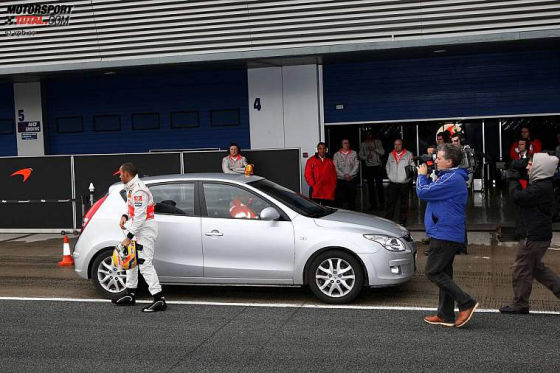 Formel-1-Tests 2009, Lewis Hamilton McLaren-Mercedes