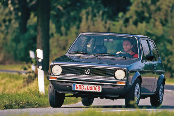klassiker f r knauser vw golf i auto bild klassik. Black Bedroom Furniture Sets. Home Design Ideas