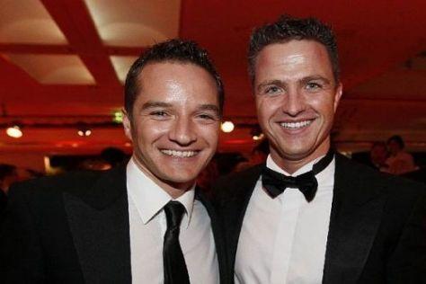 2009 direkte Rivalen der Rennbahn? Timo Scheider und Ralf Schumacher