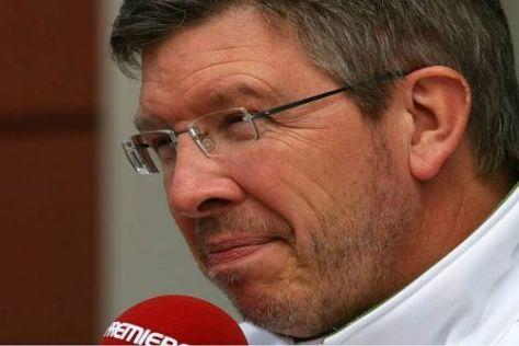 Ross Brawn kann aufatmen: Er hat Honda das Team abgekauft und es gerettet