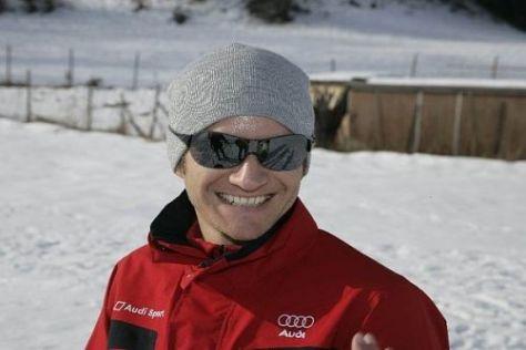 Timo Scheider brennt nach dem langen Winter schon auf die neue Saison