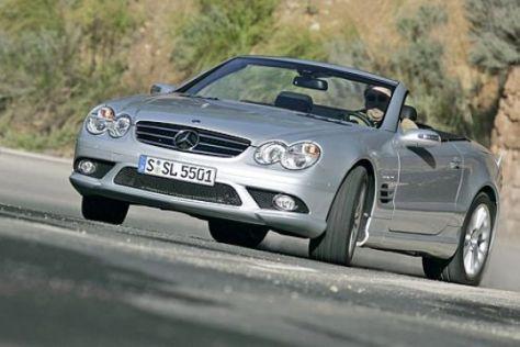 Fahrbericht Mercedes-Benz SL 55 AMG