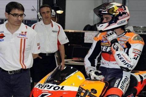 Andrea Dovizioso ist mit dem Verlauf der bisherigen Tests gar nicht zufrieden