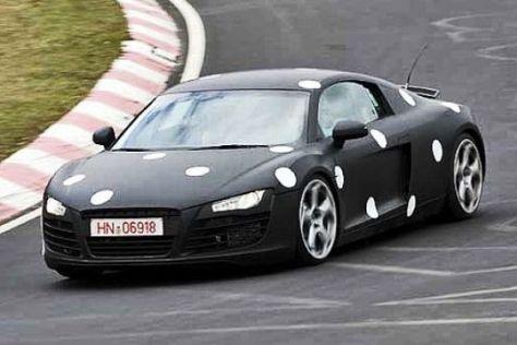 Neue Bilder vom Audi R8