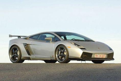 Test Lamborghini Gallardo Miura Corse