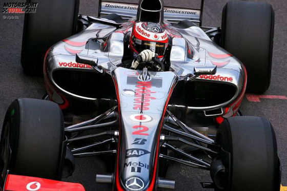 Formel-1-Testfahrten 2009, Barcelona, Heikki Kovalainen McLaren Mercedes MP4-24