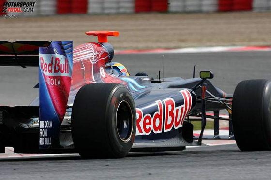 Formel-1-Testfahrten 2009, Barcelona, Sébastien Bourdais Toro Rosso STR-04